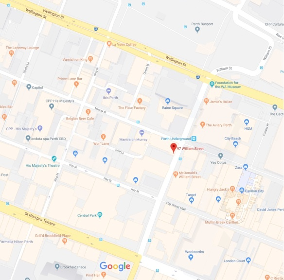 97 William St - Google Maps2